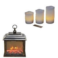 Διακοσμητικά Κεριά-Φαναράκια LED