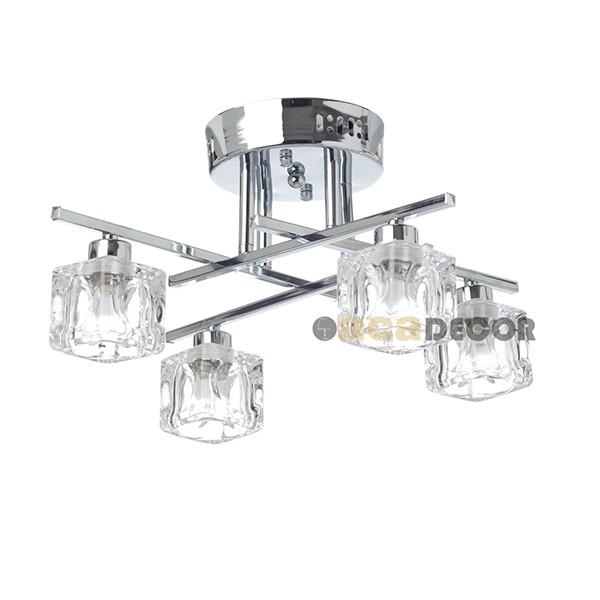 Aca Φωτιστικό Οροφής Με Διάφανο Γυαλί - Φωτιστικά Οροφής - Eshop ... c4efd73b4e2