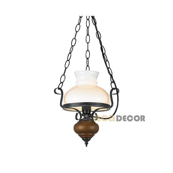 Aca Παραδοσιακό Φωτιστικό Με Ξύλο - Κρεμαστά Φωτιστικά- Φωτιστικά ... 31d94ce35cd