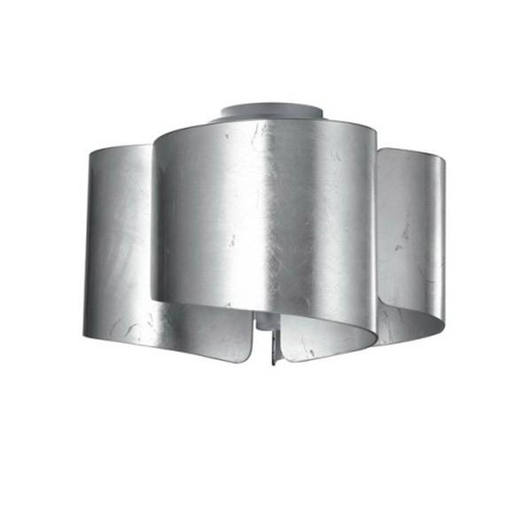 Luce Ambiente Κυματιστό Φωτιστικό Οροφής Ασημί Imagine - Φωτιστικά ... f07eebb4dbb