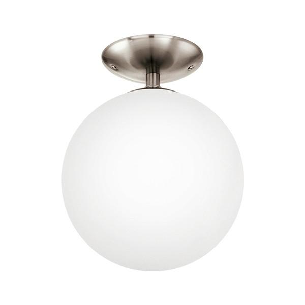 Eglo Rondo Mοντέρνο Φωτιστικο Οροφής μπάλα λευκή 1φωτο 25cm ... f8cdd0ef2e4