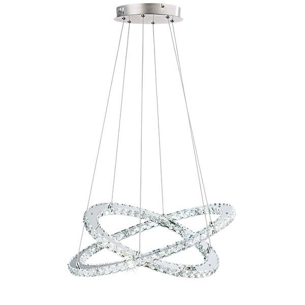Eglo Varrazo Κρυστάλλινο Φωτιστικό Led - Πολύφωτα - Eshop Electric 3872b787096