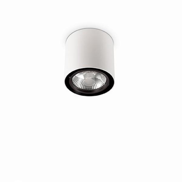 Ideal Mood Στρογγυλό Σπότ Οροφής 1Φ Λευκό - Ideal Lux - Eshop Electric 5278bf3bd8e